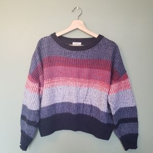 Flash sale💥Purple & Pink Knitted Sweater
